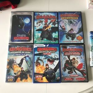 How To Train Your Dragon Collection Lot